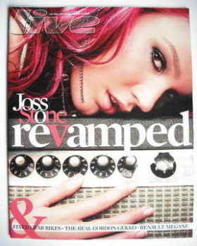 Live magazine - Joss Stone cover (13 January 2008)