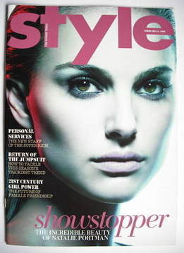 <!--2008-02-24-->Style magazine - Natalie Portman cover (24 February 2008)