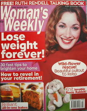 <!--2001-01-30-->Woman's Weekly magazine (30 January 2001)
