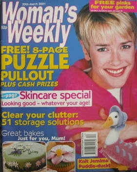 Knitting Pattern For Jemima Puddle Duck : Womans Weekly magazine (20 March 2001 - British Edition)