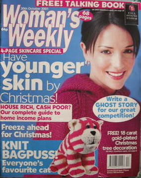 <!--2001-10-30-->Woman's Weekly magazine (30 October 2001)