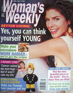 <!--1998-07-28-->Woman's Weekly magazine (28 July 1998)