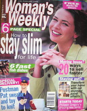 <!--1998-02-10-->Woman's Weekly magazine (10 February 1998)