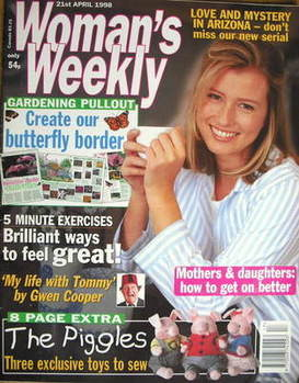 <!--1998-04-21-->Woman's Weekly magazine (21 April 1998)