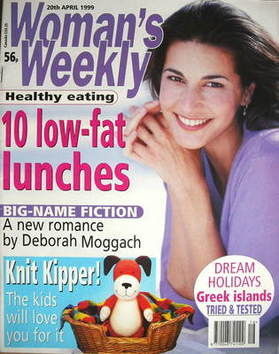 <!--1999-04-20-->Woman's Weekly magazine (20 April 1999)