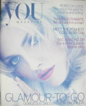 <!--2004-08-29-->You magazine - Sophie Dahl cover (29 August 2004)