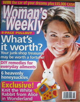 <!--1999-06-29-->Woman's Weekly magazine (29 June 1999)