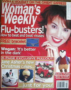 <!--2000-11-07-->Woman's Weekly magazine (7 November 2000)