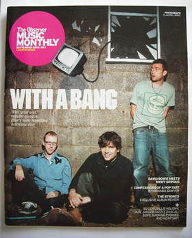 The Observer Music Monthly magazine - September 2003 - Launch Issue - Blur cover