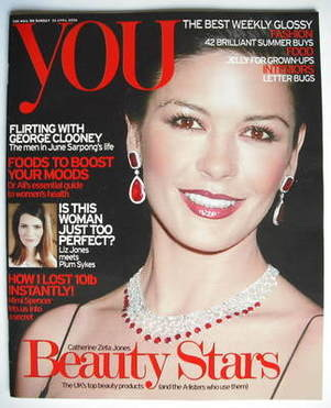 <!--2006-04-30-->You magazine - Catherine Zeta Jones cover (30 April 2006)