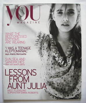 <!--2005-07-24-->You magazine - Emma Roberts cover (24 July 2005)