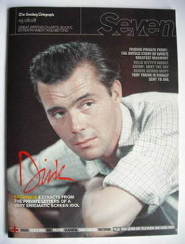 Seven magazine - Dirk Bogarde cover (3 August 2008)