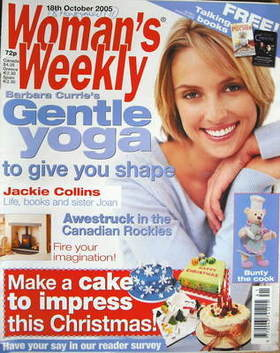 <!--2005-10-18-->Woman's Weekly magazine (18 October 2005 - British Edition
