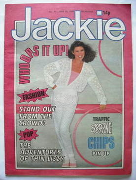 <!--1981-06-20-->Jackie magazine - 20 June 1981 (Issue 911)