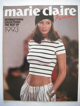 Marie Claire supplement - Christy Turlington cover (1993)