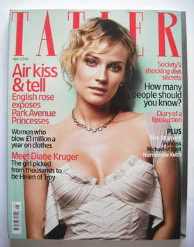 <!--2004-05-->Tatler magazine - May 2004 - Diane Kruger cover