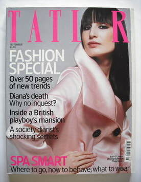 <!--2003-09-->Tatler magazine - September 2003 - Erin O'Connor cover