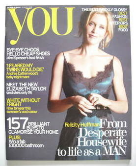 <!--2006-03-19-->You magazine - Felicity Huffman cover (19 March 2006)