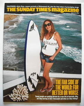 <!--2008-02-24-->The Sunday Times magazine - The Far Side Of The World cove