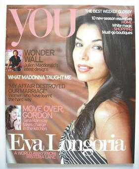 <!--2006-08-27-->You magazine - Eva Longoria cover (27 August 2006)