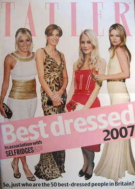 Tatler supplement - Best Dressed 2007