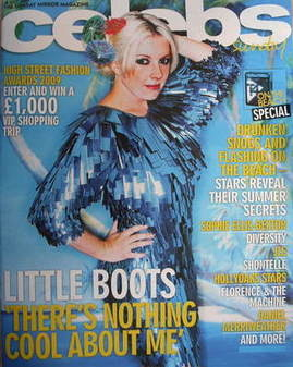 <!--2009-07-26-->Celebs magazine - Little Boots cover (26 July 2009)