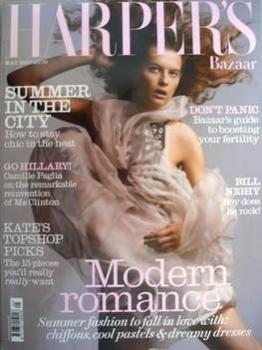 Harper's Bazaar magazine - May 2007 - Elena Melnik cover