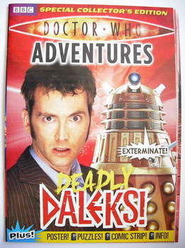 Doctor Who Adventures supplement - Deadly Daleks cover (June 2009)