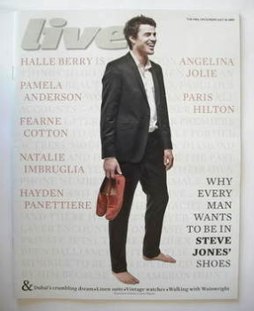 Live magazine - Steve Jones cover (26 July 2009)