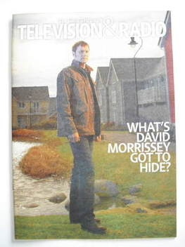 Television&Radio magazine - David Morrissey cover (7 July 2007)