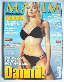 MAXIM magazine - Dannii Minogue cover (September 1998)