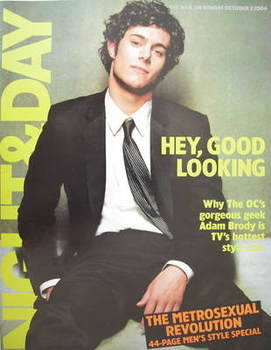 Night & Day magazine - Adam Brody cover (3 October 2004)