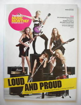 The Observer Music Monthly magazine - November 2007 - Girls Aloud cover