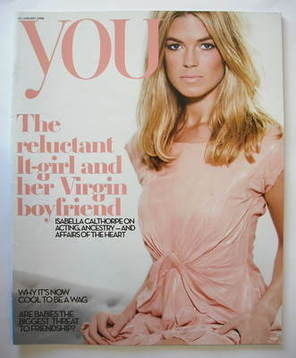 <!--2008-01-20-->You magazine - Isabella Calthorpe cover (20 January 2008)
