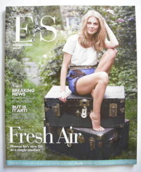 Evening Standard magazine - Donna Air cover (16 May 2008)