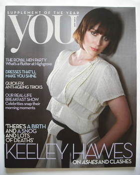 <!--2009-04-05-->You magazine - Keeley Hawes cover (5 April 2009)