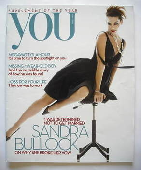 <!--2009-07-12-->You magazine - Sandra Bullock cover (12 July 2009)