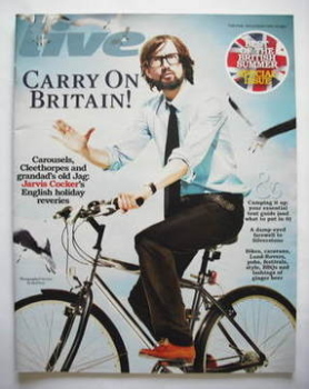 Live magazine - Jarvis Cocker cover (10 May 2009)