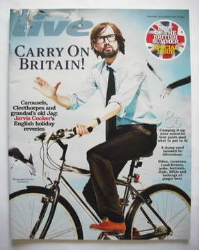 <!--2009-05-10-->Live magazine - Jarvis Cocker cover (10 May 2009)