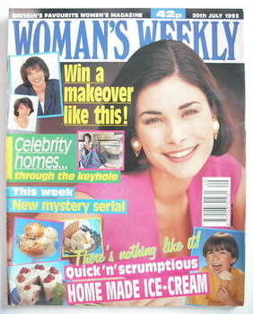 <!--1993-07-20-->Woman's Weekly magazine (20 July 1993)