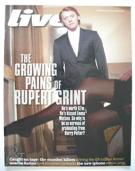 <!--2009-06-28-->Live magazine - Rupert Grint cover (28 June 2009)