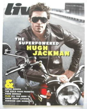Live magazine - Hugh Jackman cover (5 April 2009)