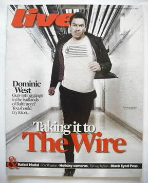 <!--2009-07-19-->Live magazine - Dominic West cover (19 July 2009)