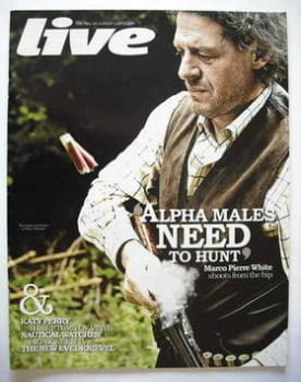 Live magazine - Marco Pierre White cover (12 July 2009)