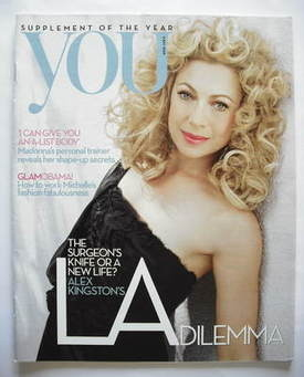 <!--2009-05-03-->You magazine - Alex Kingston cover (3 May 2009)