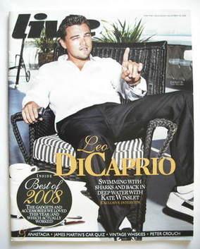 <!--2008-12-28-->Live magazine - Leonardo DiCaprio cover (28 December 2008)