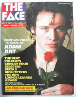 <!--1981-04-->The Face magazine - Adam Ant cover (April 1981 - Issue 12)