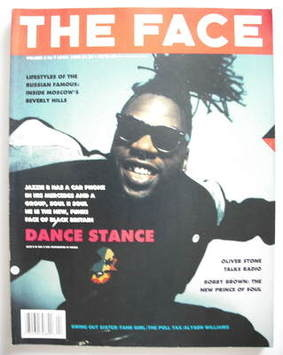 <!--1989-04-->The Face magazine - Jazzie B cover (April 1989 - Volume 2 No.