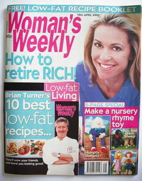 <!--2000-04-18-->Woman's Weekly magazine (18 April 2000)