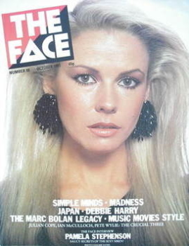 The Face magazine - Pamela Stephenson cover (October 1981 - Issue 18)